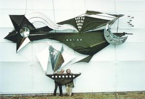 CHRISTIAN ROEHL, Peter Rohn, FLUGSCHIFF,1972