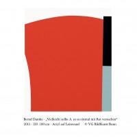 Bernd Damke – Vielleicht sollte A. es es einmal mit Rot versuchen2013