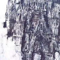 Dieter Rogge – Rouen, la facade de la cathédrale 2016
