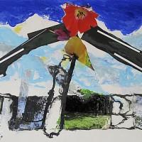 Jan Commandeur – Berlin Landscape 2011-2012, collage op plaatmateriaal 122*244 cm