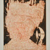 Harry Mohr – Kopflandschaft – Eitle Verdrängung1987